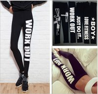 leggings - 2015 color Work out printed cotton leggings low waist nine minutes pencil pants women winter leather galaxy leggings tights BBB2819