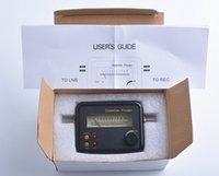 Wholesale 2015 hotwholesale Satellite Signal Finder SF9506 Digital Signal Finder Meter Satellite Signal Finder