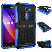 asus stylus - Case For Asus Zenfone e ZE500CL inch Rugged Hybrid Armor Case Heavy Duty Impact Protective Hard Cover With FILMS STYLUS