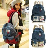 best price shoulder school bag - Best price Travel Satchel Leisure Bags Women Rucksack Canvas Backpack Shoulder bag School Bag Drop