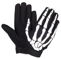 Wholesale US purchasing outdoor mountain bike gloves Ghost Rider motorcycle gloves motorcycle skeleton skull spot