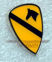 army lapel pin - 2016 Top Fashion Ussr American Metal Badges German Medal Badge Us Army st Cavalry Division Brooch Small Metal Badge Lapel Pin
