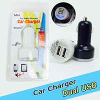 auto cell phone charger - For Iphone Mini Car Chargers Colorful Ports Nipple Car Adapter Cigarette Plug Auto Power with retail box for cell phones