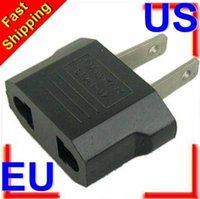 Wholesale Universal EU To US Plug Euro To USA Travel Wall AC Power Charger Adapter Converter