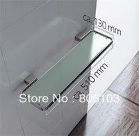 bathroom dressing tables - 2014 Direct Selling New Bathroom Shelf Prateleira De Banheiro Classic glass Single Dressing Table Shelf