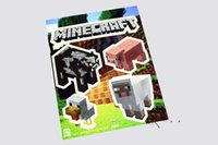Wholesale 6Style NEW Minecraft Sticker Minecraft Creeper Steve and all others character sticker Set of M471