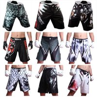 bad boy art - Mens MMA Shorts MMA fight trunks for men arts seen Pretorian boxing Sanda Muay Thai Shorts mma bad boy short trunks