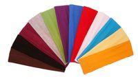 Wholesale 80 pieces Cotton Stretch Headbands Yoga Softball Sports Soft Hair Band Sweatband Head