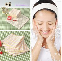 Wholesale 2015 NEW CM Cotton Kids handkerchief Hand and baby Towel for Adult Beauty towels Color random
