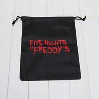 Wholesale 10pcs FNAF bags five nights at freddy s toys bag Storage bag five nights at freddy bag