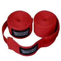 Wholesale 260 cm Boxing Bandage Strap Punching Sanda Muay Thai MMA Taekwondo Single Training Gloves Fist Wrist Protection Handwraps