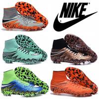 Nike Hypervenom Phantom 2 FG para hombre de fútbol calzan las grapas, zapatos para hombre barato Hypervenom Botas de fútbol Nike a la venta Magista