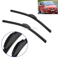 beam wiper blades - Pair Front Flat Beam Windscreen Wiper Blades inch For VAUXHALL Astra Opel Aero order lt no tracking