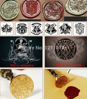 Wholesale Sealing wax stamps set single stamp harry potter twilight letters alphabet A Z