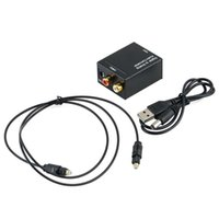 Wholesale Digital Optical Coaxial Toslink Signal to Analog Audio Converter Adapter RCA SU