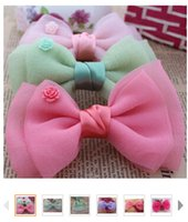 head head tie - Kids DIY Bow Tie DIY Corsage Diy Accessories Children Hair Accessories DIY Cloth flowers Head Flower Accessories