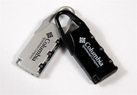 Wholesale Outdoor Hard Alloy Luggage Lock Password Cylinder Lock Travel Suitcase Padlock Promotion Gift SH710