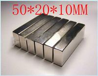Bloc magnétique 50 x 20 x 10 mm aimant puissant engin aimant néodyme néodyme de terre rare aimant puissant permanent n50 n52