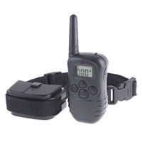 Wholesale 300M Electric Shock Rechargeable Waterproof Dog Training Collar products For Dog H4380
