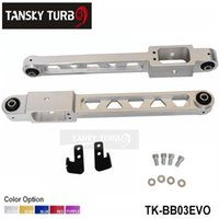 Wholesale Tansky Lower Control Arms For Mitsubishi evo123 SILVER GOLDEN BLUE RED PURPLE one left one right TK BB03EVO
