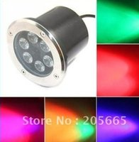 ac common - w RGB LED underground light DC12 V AC85 V input can be controlled by common rgb controller or dmx decoder