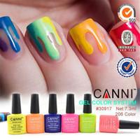 Wholesale 2015 Hot Sale Nail Art CANNI Factory ml Soak Off LED Nail Gel Polish CANNI Gel Color System