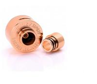 Precio de Atomizador derringer-El atomizador 2014 de Derringer RDA reconstruye RDA 4 colorea las bobinas de cobre amarillo de cobre negro de DIY y el flujo de aire grande de las mechas DHL libera el envío