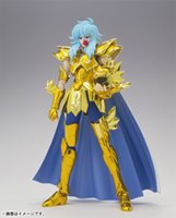 aphrodite products - In Stock Metalclub Saint Seiya MC Pisces Aphrodite Myth Cloth Gold Ex2 Action Figure Toy Model With Metal Armor