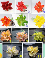 calla lily artificial flowers - Cheap price Real Touch Artificial Calla Lily Flower Color For Romantic Wedding Bridal Bouquet Home Decoration