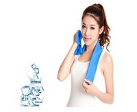 magic towel - magic cool towel Summer New Tech sports towels Beach Magic cooling towel Creative Coolcore face care breathable brand ice towel