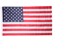 Wholesale 90x150cm American Flags Polyester US Flag Flags of United States the Stars and the Stripes newest