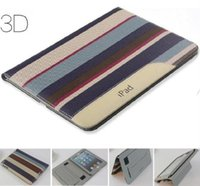 Wholesale New Ultra Thin Leather Smart Case Stand Cover For Apple iPad Air mini