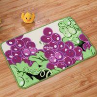 area kitchen rugs - 10pcs area rug floor carpet New Rainbow Fruit printed carpet entrance mats entrance mats kitchen bathroom floor mat a gran