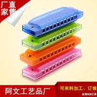 children toys - Children playing musical instruments harmonica Melodica Orff plastic toy for children first aid