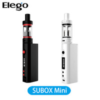 Cheap Single Kanger subox mini Starter Kit Best Black Metal kanger subox kit
