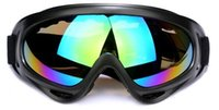 Wholesale Free DHL Cycling Bike Motorcycle ATVMotocross Ski Snowboard Off Road Goggles Fits Over X400 UV Cycling Ski Glasses CS Action SZ16 G01