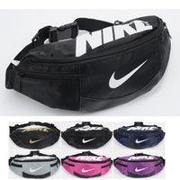 Wholesale Waist Bag Fashion Men Women Waist Pack Multi layer Casual Sports bag