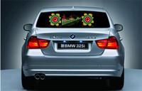 Wholesale 2015 Led Car Stickers cm x cm Sound Music Activated EL Car Stickers Equalizer Glow Flash Led Light Car Music Rhythm Light Different