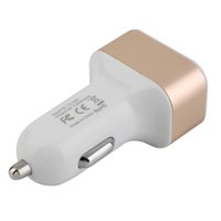 Wholesale Micro Auto Universal Port USB Car Charger For iPhone iPad iPod A Mini Car Charger Adapter V A A A