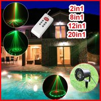 live in usa - In stock christmas laser light projector dj equipment laser light for christmas mini laser stage lighting party lights