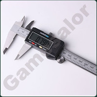 Wholesale 6 quot mm Digital Vernier Caliper Micrometer Guage Widescreen Electronic Accurately Measuring Stainless Steel order lt n