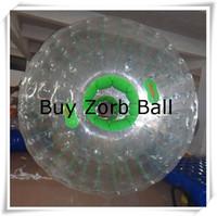 achat en gros de grand hamster-Gros-1mmPVC Dia extérieur 3.0m * 2.0m intérieur Dia Zorb Ball, Big Zorbing Ball, gonflable Zorbing Ball, boule de hamster humain For Two