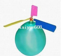 Wholesale Balloon Helicopter children Toy self combined Balloon Helicopter