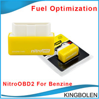 car chip programmer - 2015 High Quality Plug and Drive NitroOBD2 Performance Chip Tuning Box for Benzine Cars NitroOBD2 Chip Tuning Box car fuel saver