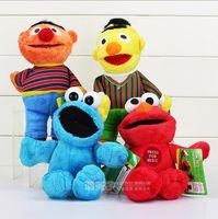 sesame street - 2016 style sesame street Stuffed Animals Plush Toys Movie Plush Toys sesame street Toys For Children CM pieces set