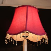 antique table linens - x x cm Large linen Lampshade Modern red decorative lamp shades for table lamps LS59003X