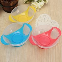 Wholesale High quality Baby Infant Toddler Kids Suction Cup Bowl Slip resistant Tableware Feeding Tool