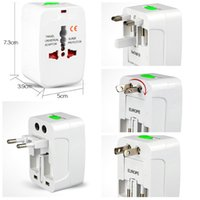 Wholesale Universal Adapter Plug Socket Comverter Universal All in Travel Electrical Power Adapter Plug US UK AU EU