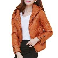 Wholesale Parka New Arrival Plus Size S XL Winter Full Sleeve Jacket Short Style Women Slim Solid Color Coat Manteau Femme