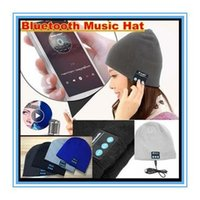 Wholesale warm fashion Bluetooth Beanie Hat Wireless Headphones Stereo Music Bluetooth Headset Hat Handfree